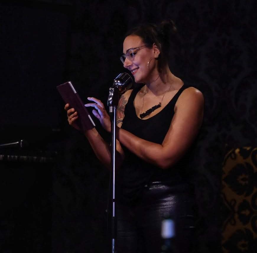 Jane Claire Bradley Performing Spoken Word